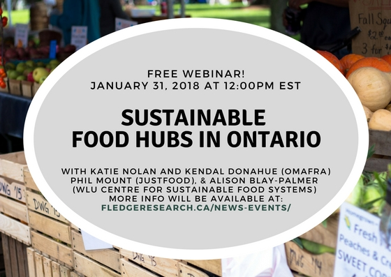 Food Hub Webinar Registration Open